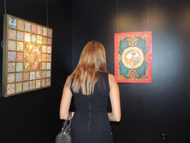 Слияние двух миров: необычная выставка Гамы Маликовой - РЕПОРТАЖ - ФОТО