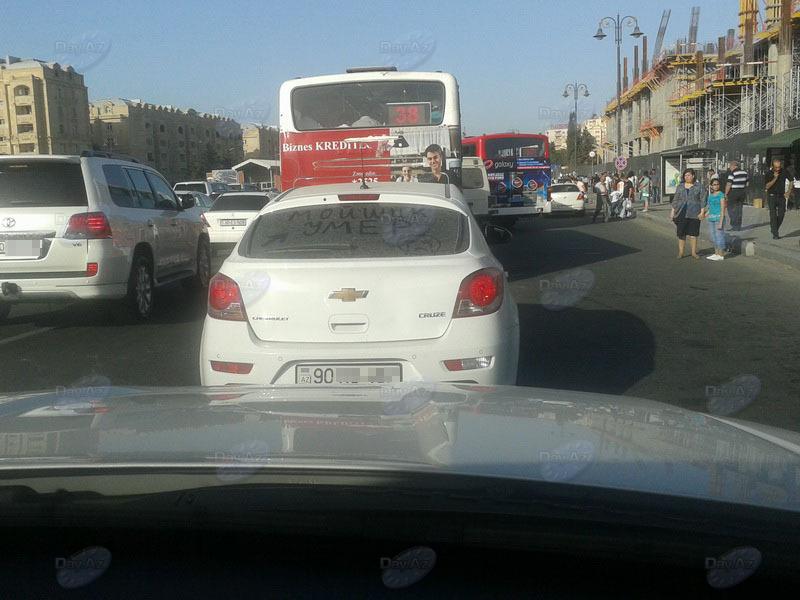 Почему в Баку есть грязные авто? Причина найдена - МОБИЛЬНЫЙ РЕПОРТЕР – ФОТО