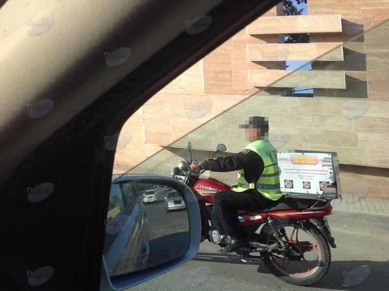 Полиция строго наказала разносчика пиццы - МОБИЛЬНЫЙ РЕПОРТЕР – ФОТО