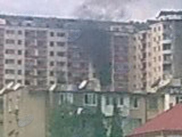 В Баку в новостройке произошел пожар, жильцы эвакуированы - МОБИЛЬНЫЙ РЕПОРТЕР – ОБНОВЛЕНО – ФОТО